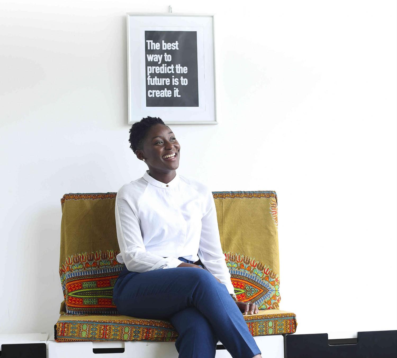 Amma Mensah sharing thoughts on Civil Society