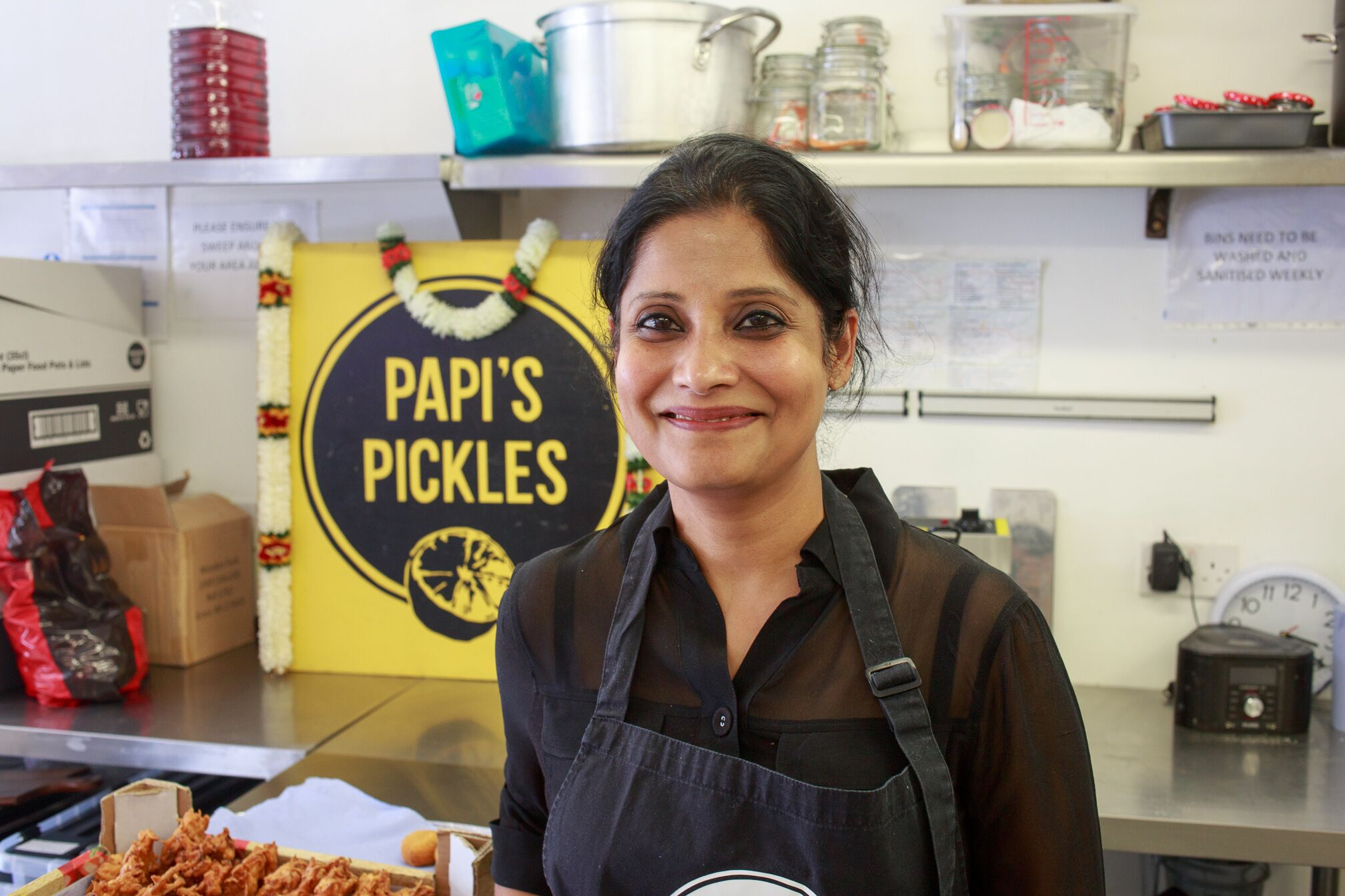 social entrepreneur Award winners Papis Pickles