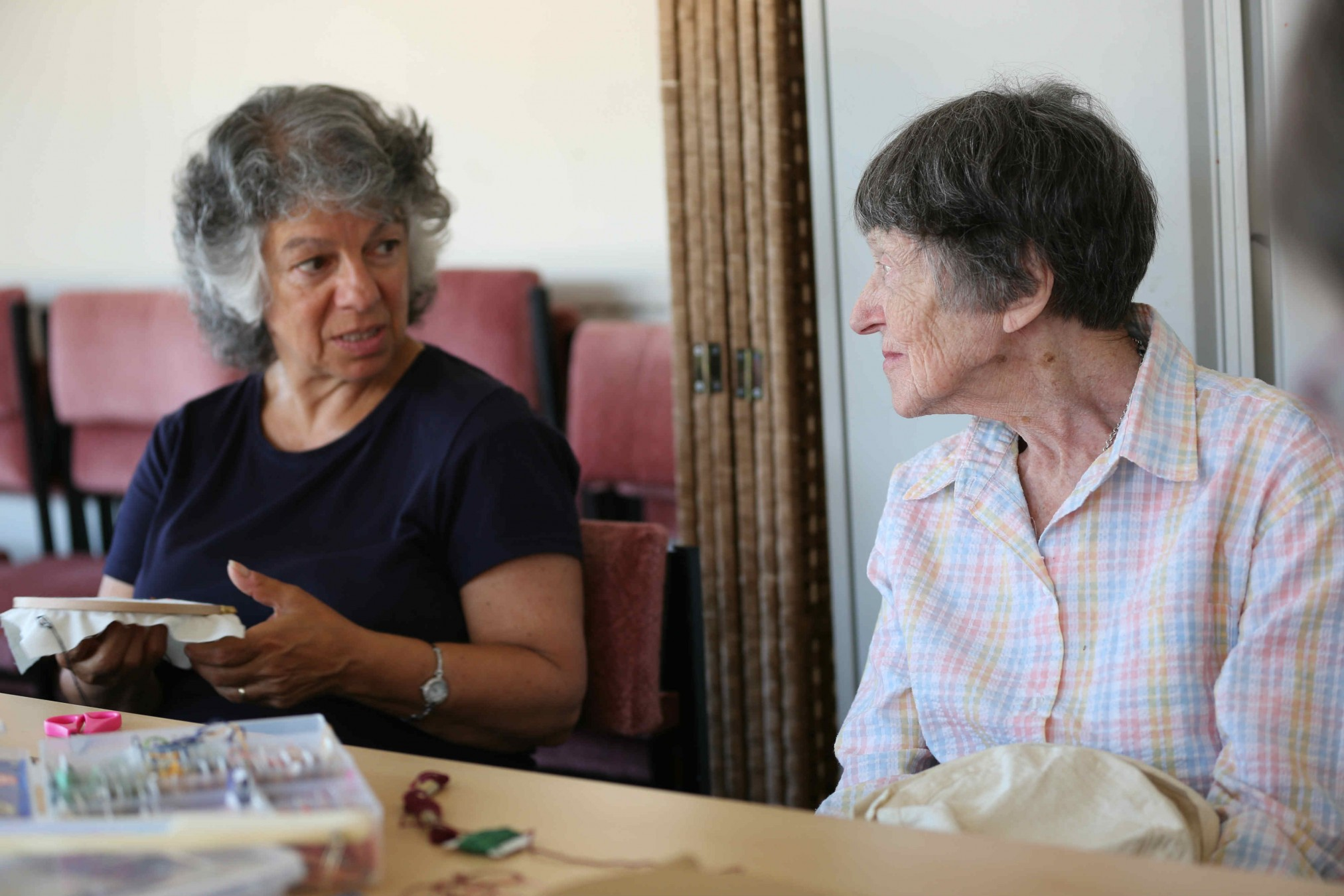 The Sewing Rooms builds confidence of women in later life