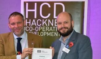 London Borough of Hackney awarded Social Enterprise Place status image.