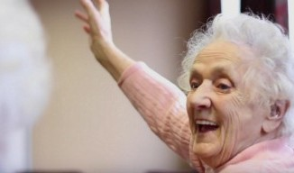 Care home classes improving older people's quality of life image.